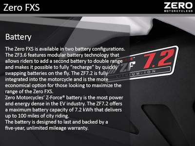 2018 Zero FXS ZF3 6 Modular   Team Powersports   Raleigh, NC